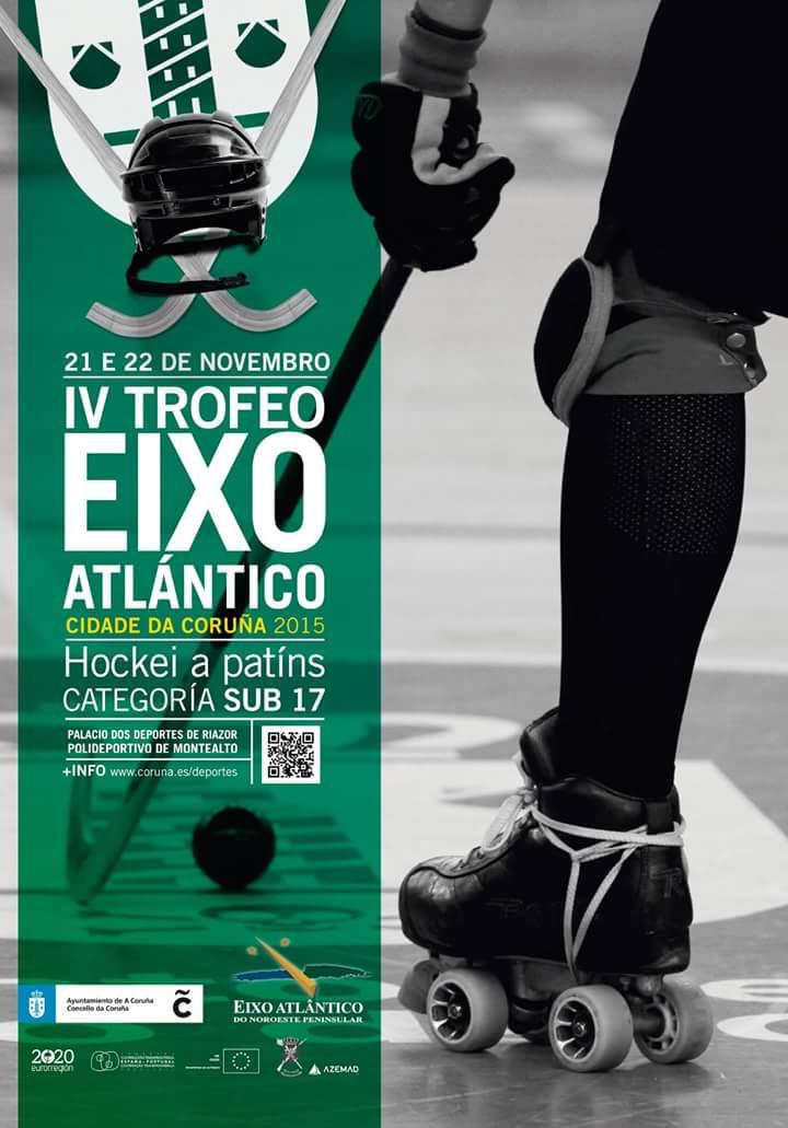 """José Manuel Sande cualifica de """"emblemática"""" a relación do hóckey coa cidade da Coruña na presentación do IV Trofeo Eixo Atlántico"""