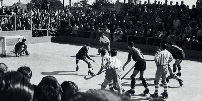 El hockey patines, uno de los deportes de la Olimpiada Popular del 36