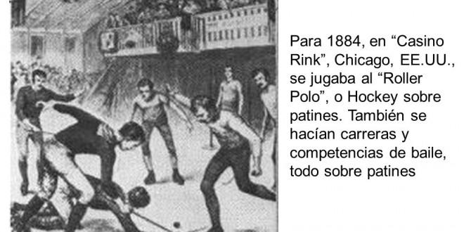 Los orígenes del hockey sobre patines