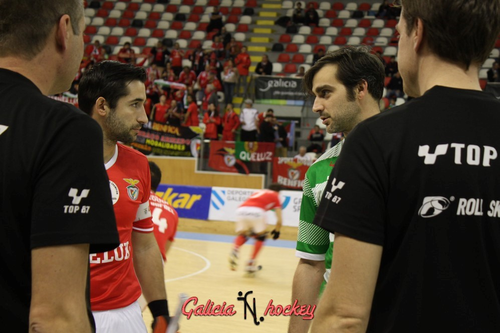 Galería Fotográfica Liga Europea 1/4 de Final:  HC Liceo- SL Benfica ( 11-03-17 )