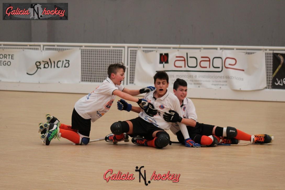 Galería fotográfica Final 4 Alevín: HC Compostela – HC Raxoi ( 09-04-2017 )