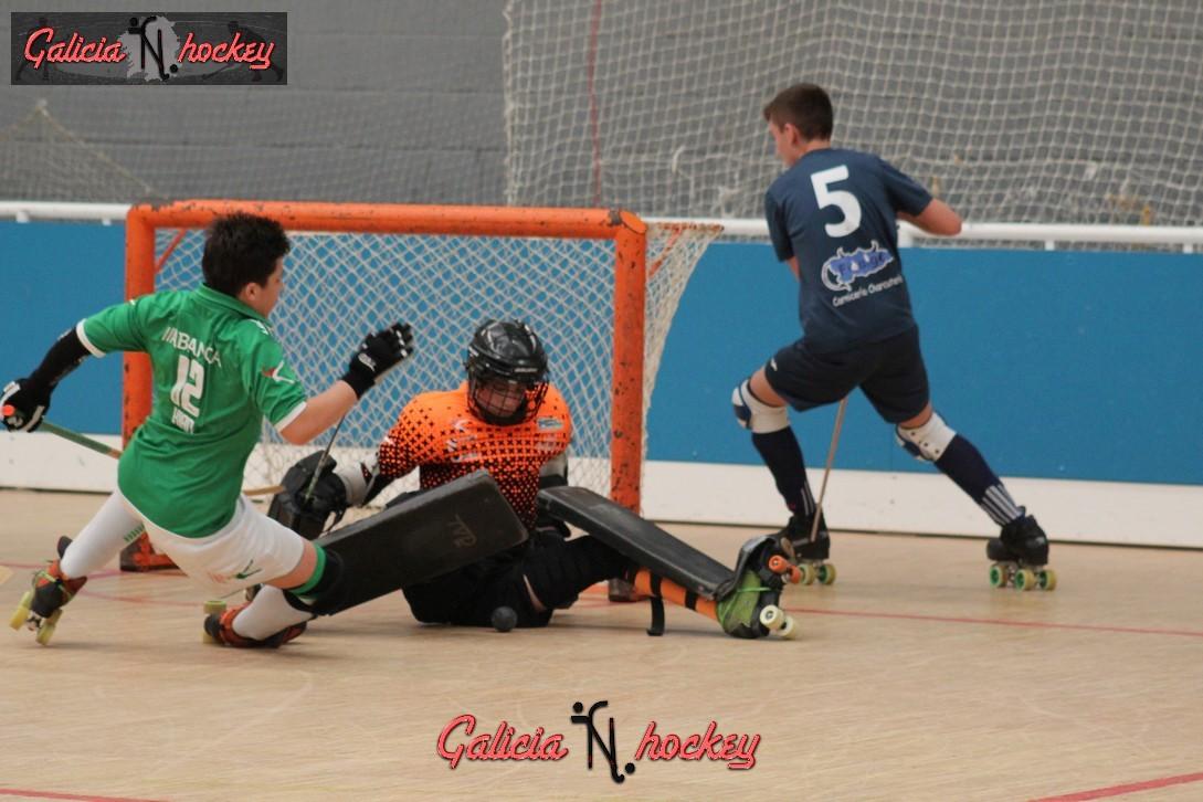 Galería fotográfica F.Sector Alevin: Roller Oviedo -HC Liceo (22-4-17)