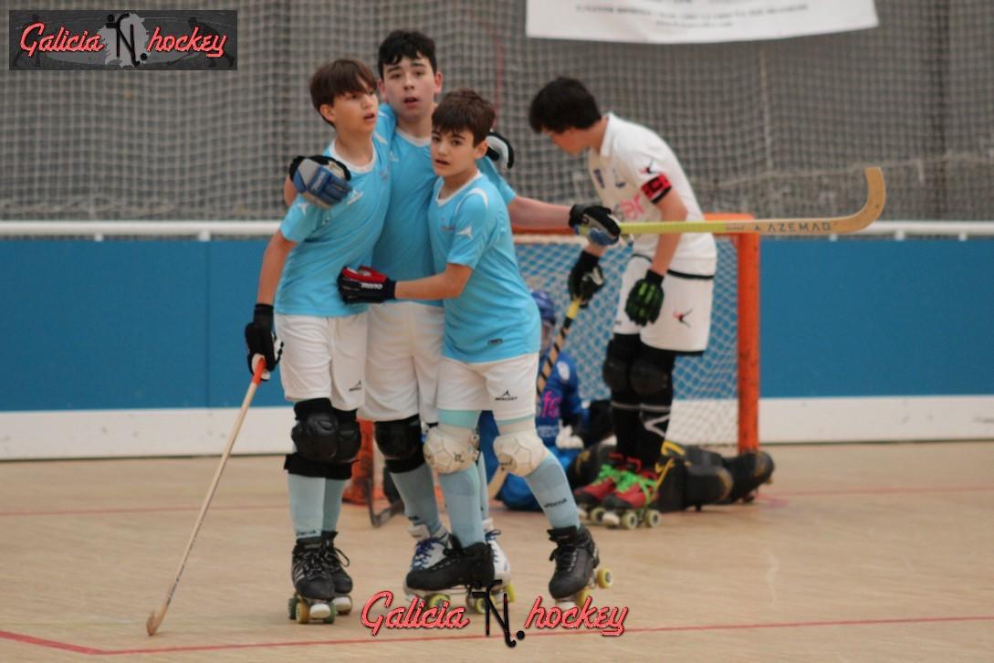 Galería fotográfica F.Sector Alevin: CH Compostela – Centro Asturiano (22-4-17)