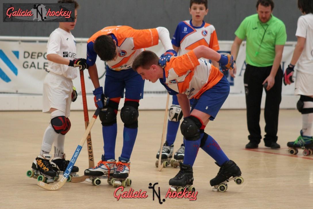 Galería fotográfica Sector Alevín: Roller Oviedo – HC Raxoi (22-4-17)