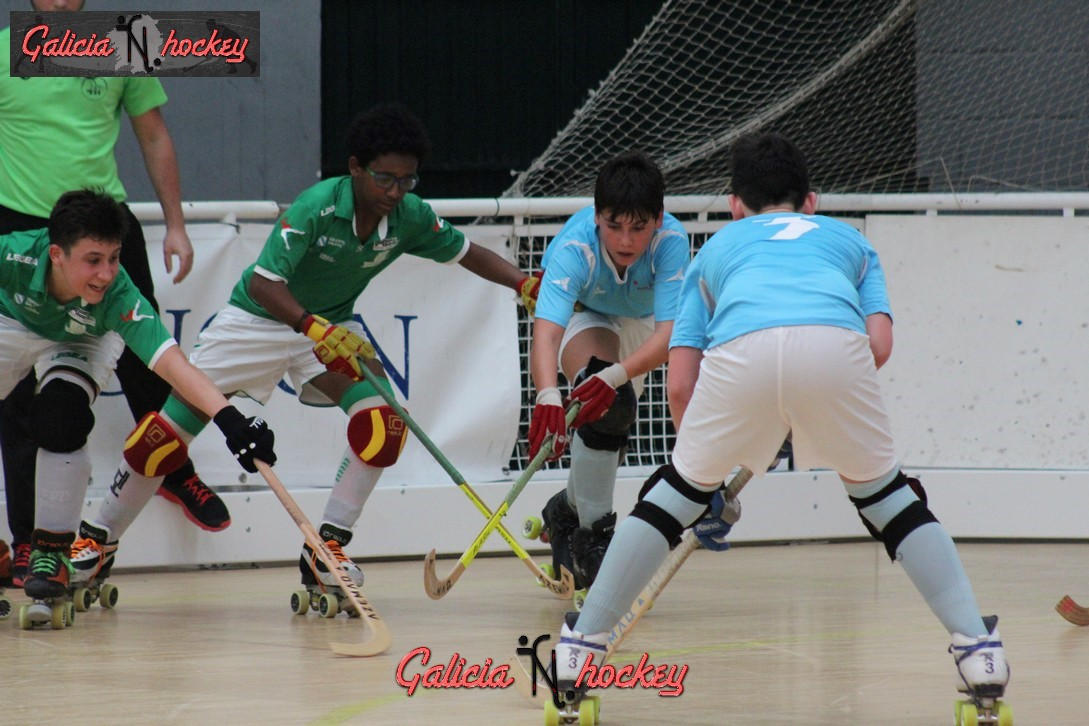 Galería fotográfica Final 4  Alevín: HC Compostela A – HC Liceo A ( 08-04-2017 )