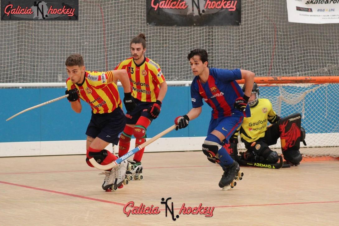 Galería Fotográfica – Final campeonato de España Junior Hockey a patines, Manlleu – FC Barcelona ( 07-05-2017 )