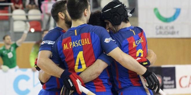 Barcelona y Reus, clasificados para fase final de la Liga Europea