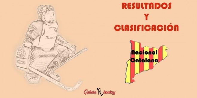 RESULTADOS Y CLASIFICACIÓN: NACIONAL CATALANA GRUP1 JOR.14 (17-3-18)