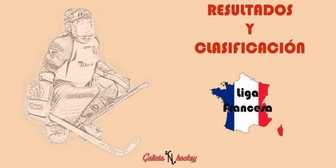 RESULTADOS Y CLASIFICACIÓN: LIGA FRANCESA N1 ELITE JOR.15 (24-3-18)