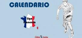 CALENDARIO FIN DE SEMANA: LIGA FRANCESA N1 ELITE JOR.15 (24-3-18)