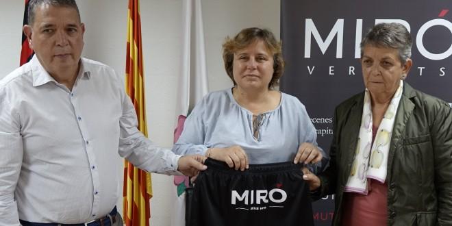 Acuerdo de colaboración entre el Reus Deportiu y Miró