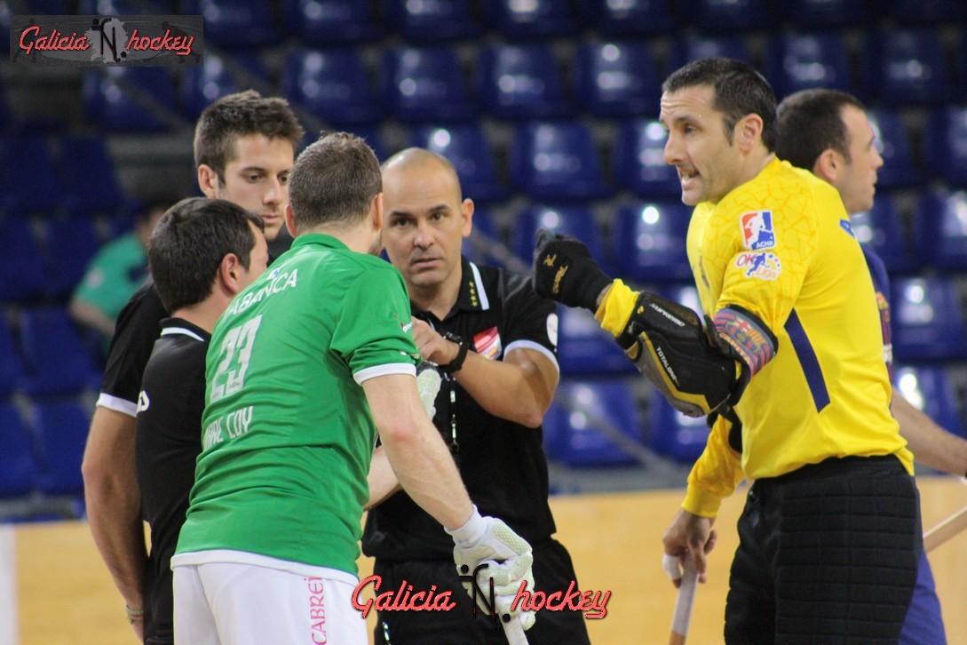 Galería Fotográfica OK Liga:  FC Barcelona 3-1 HC Liceo Jor.7 (11-11-17)