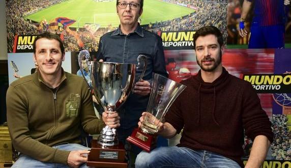El Barça Lassa visita MD con la Copa del Rey