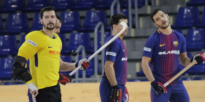 Barça y Lleida lideran la OK Liga
