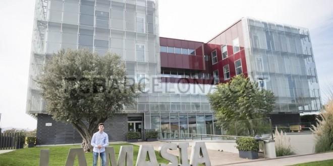 Ignacio Alabart recuerda su paso por La Masia