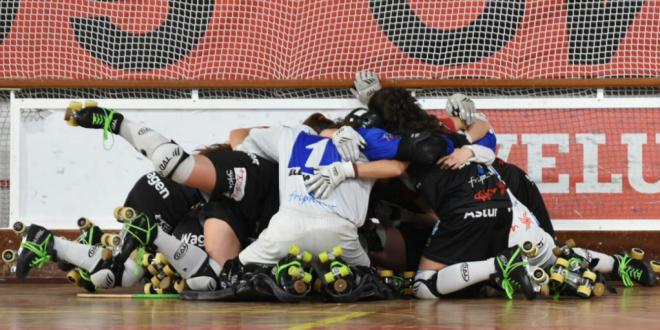Hostelcur Gijón gana la Copa de Europa femenina de hockey patines