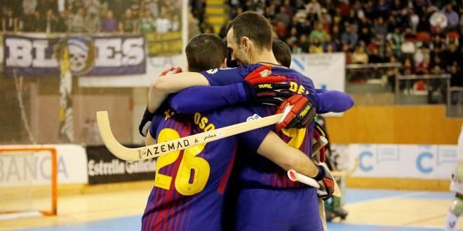 Pleno de victorias y liderato para el Barça Lassa