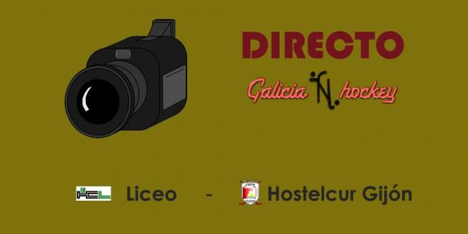 RETRANSMISIÓN EN DIRECTO OK LIGA FEMENINA: HC LICEO – HOSTELCUR JOR.20 (14-4-18)
