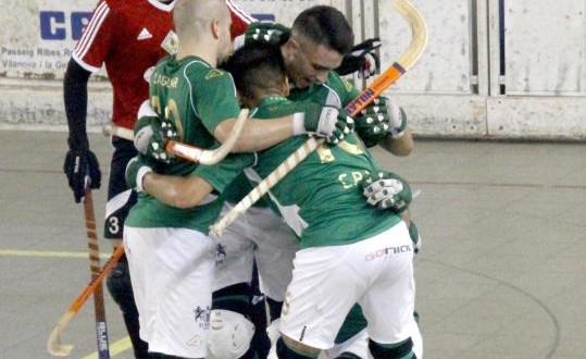 El Patín Vilanova gana al Rivas por 6 goles a 1