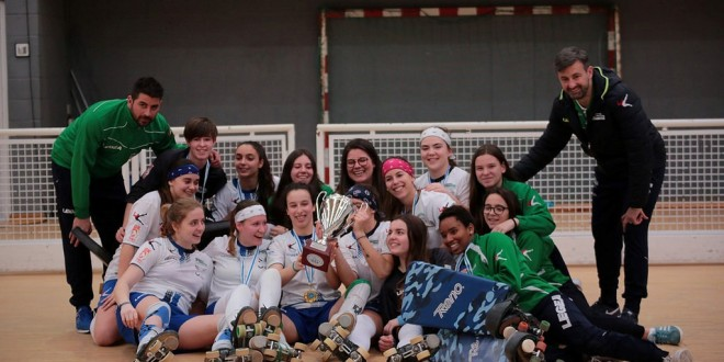 El Liceo, campeón gallego femenino