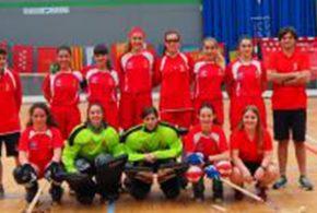 Muy buen debut de la selección navarra femenina en el Campeonato de España
