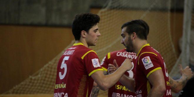 Los coruñeses Alabart y Lamas, en la selección para el Europeo de hockey en A Coruña