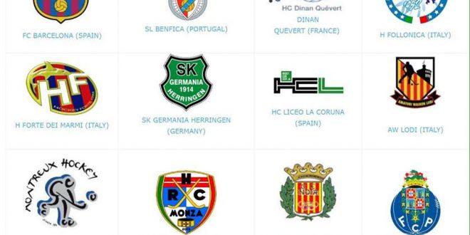 Lista de equipos que participan esta temporada 2018/2019 en los campeonatos europeos.