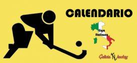 CALENDARIO MARTES-MIÉRCOLES: LIGA ITALIANA SERIE A1 JOR.7 (20-11-18)