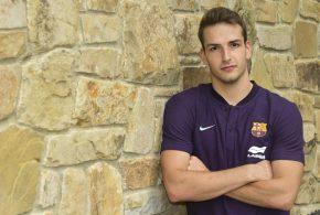 """Nil Roca: """"No esperaba que el Barça me llamara tan pronto"""""""