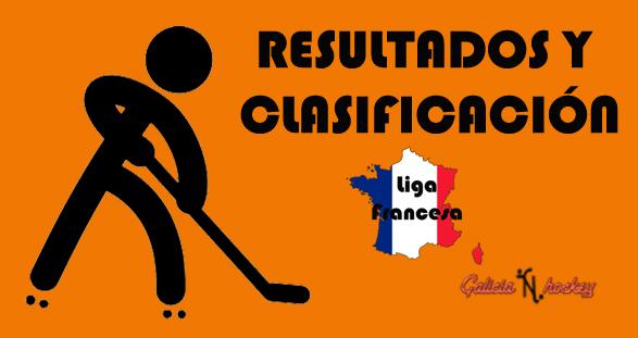 RESULTADOS Y CLASIFICACIÓN: LIGA FRANCESA N1 ELITE JOR.4 (27-10-18)