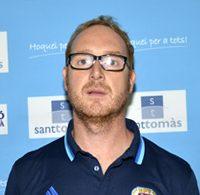 """Francesc Linares (CP Voltregà): """"Los árbitros se dejan presionar por las pistas"""""""