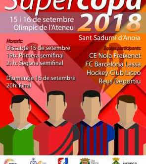 La Supercopa de España se celebra en Sant Sadurní d'Anoia