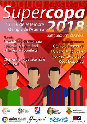 HC Liceo y Barça Lassa disputarán la final de la Supercopa de España