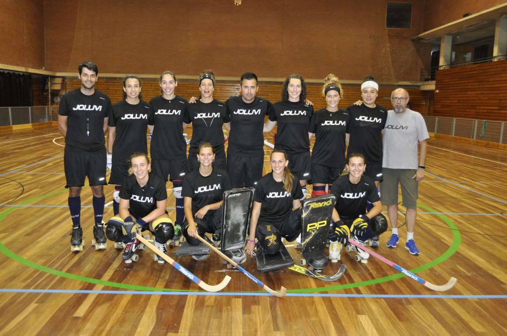 La selección femenina de hockey patines debuta este lunes en el Campeonato de Europa