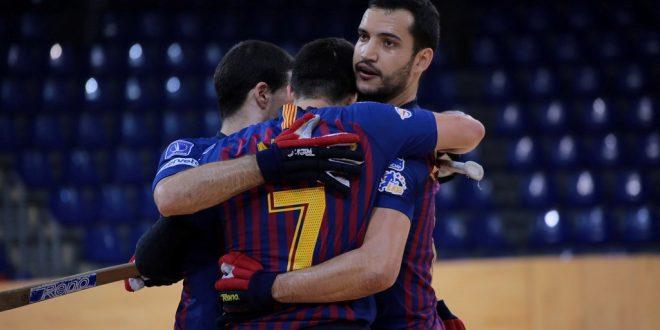 El Barça no falla en el Palau