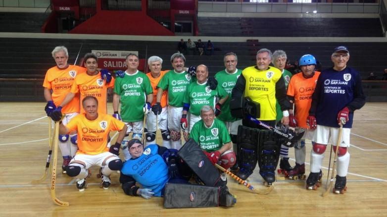 Hockey sobre patines: San Juan es sede del 29° Encuentro Nacional e Internacional de veteranos