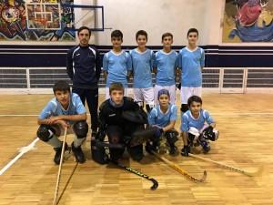 El CH Compostela inicia este jueves su participación en la Eurockey Cup U15