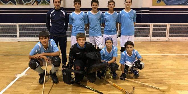 El CH Compostela se estrena en la Eurohockey Cup sub 15