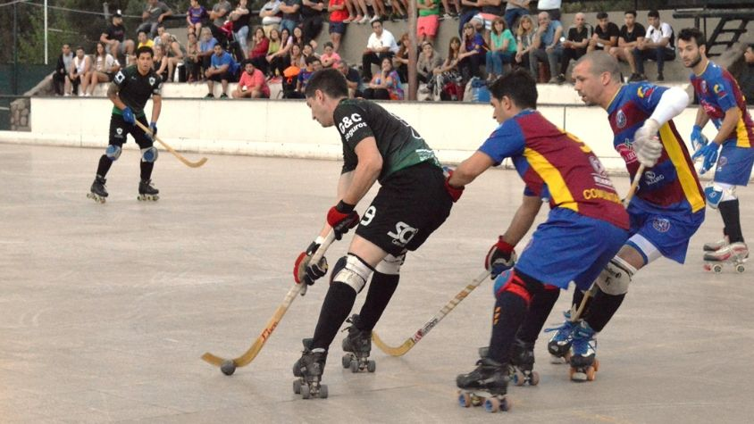 Domingo negro para el hockey sobre patines mendocino