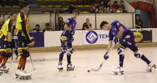 El Patín gana 8 a 1 al Tordera con un recital de goles y juego