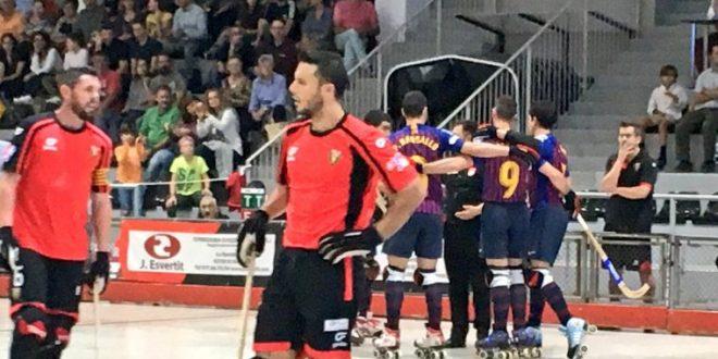 El Vendrell, sin opciones ante el Barça