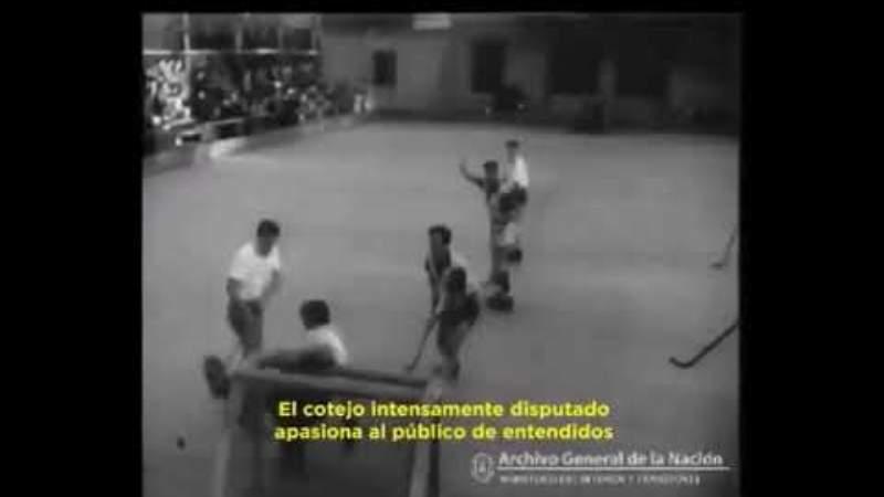 Así era el hockey sobre patines de los años '50