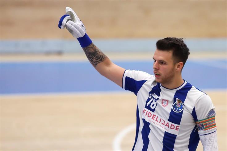 Hélder Nunes, que se inició en el Barcelos y pasó por el HC Braga, va a cambiar del FC Porto al Barcelona