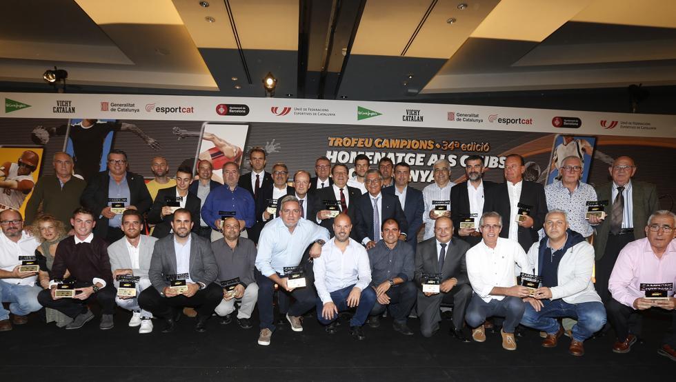 Hoy se celebra el 35º Trofeu Campions de MD, que premia a los clubs de Catalunya