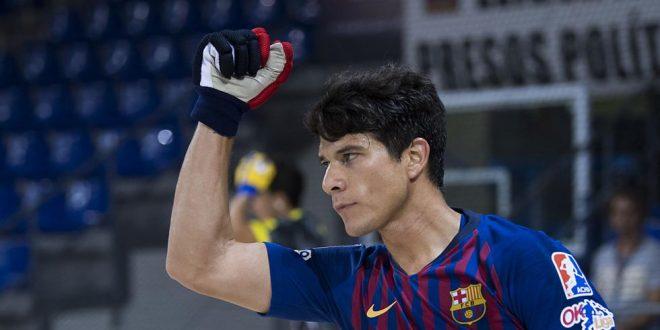 9-3: El Barça golea al Sant Cugat con un poker de Álvarez