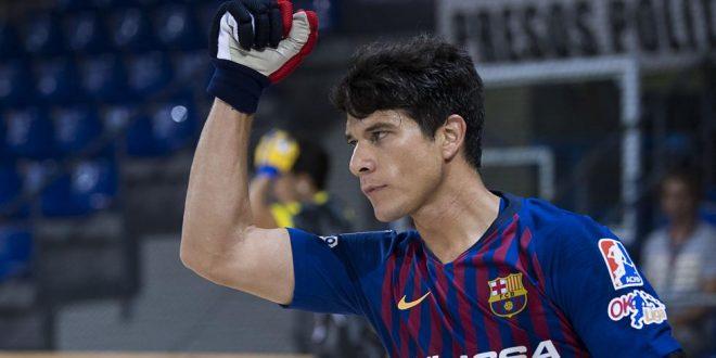 1-5: El Barça gana en El Vendrell y ya es líder único de la OK Liga