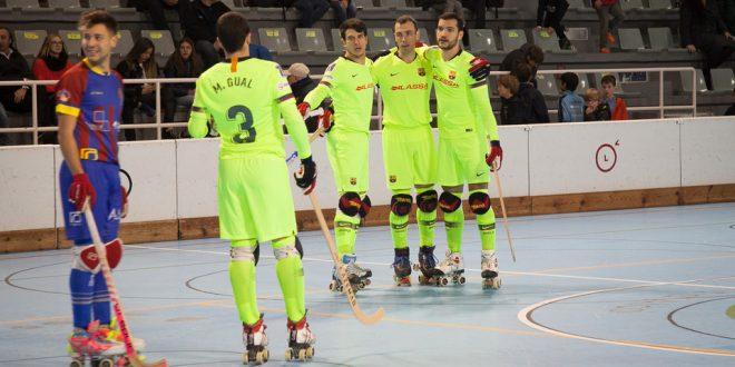 El Barça golea al Alcoy y se mantiene firme en cabeza