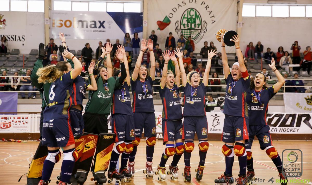 La selección española femenina afianza el título Europeo en los 105 segundos pendientes contra Portugal