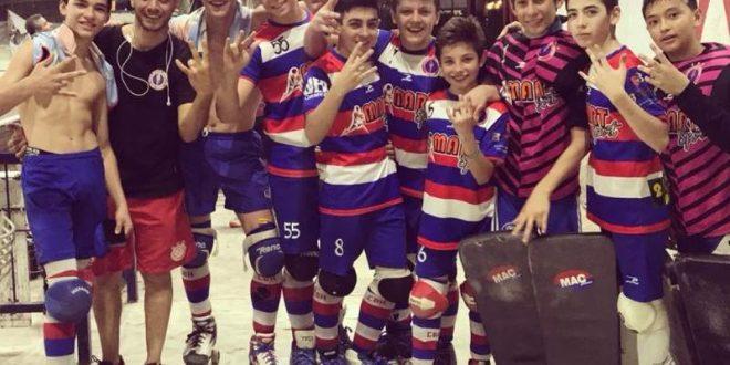 Hockey sobre patines: las inferiores jugarán finales el sábado