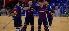 2-6: El Barça, líder del grupo A de la Liga Europea